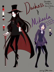 Genderbend: Duke and Missi by CNeko-chan