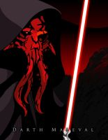 Darth Maleval by witchking08