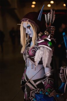 Lady Sylvanas cosplay by Narga-Lifestream