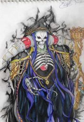 Overlord - All hail Ainz Ooal Gown! by ThePandaViking