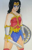 Wonder Woman by Ncid
