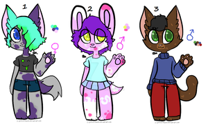 10 point Anthro adopts (CLOSED) by TheGayFoxBoy