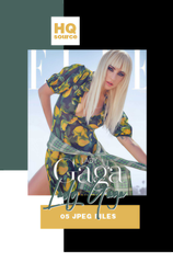 Photopack 2903 // Lady Gaga by HQSource