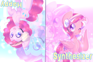 Happy Synthesizer [Gift/fanart] by Twily-Star