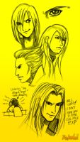 -- Villians of FF7:AC -- by Pokelai