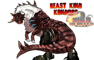 Beast King Kongorr (Primal King of the Lost World) by Boogie209