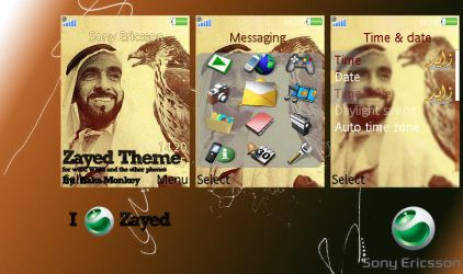 Zayed - sony ericsson theme by Baka-Monkey