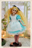 ALICE IN WONDERLAND BALL JOINTED DOLL by SutherlandArt