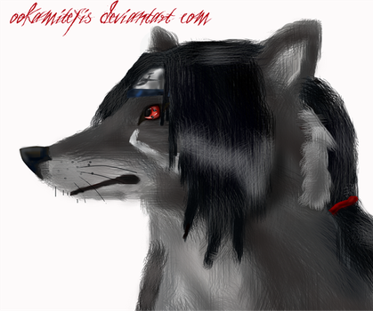 Itachi as a werewolf-realism by ookamitefis