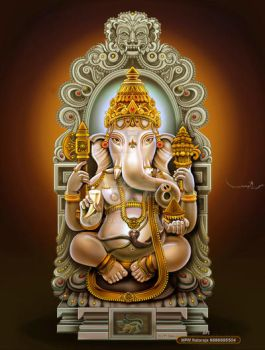 SRI GANESH by thandav