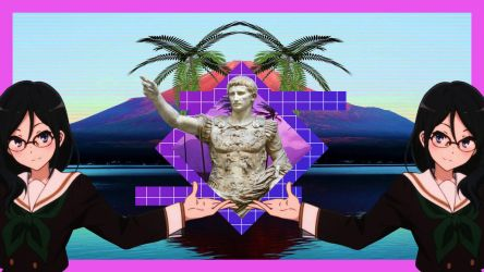 My Anime Vaporwave Wallpaper #18 by iamthebest052