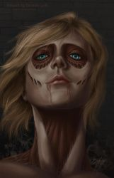 The Female Titan by RedCoaster