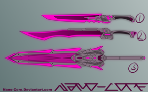 Scifi Sword Adopts (closed) by Nano-Core