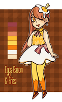 EggsBaconandFries Adoptable CLOSED by ClawCraps