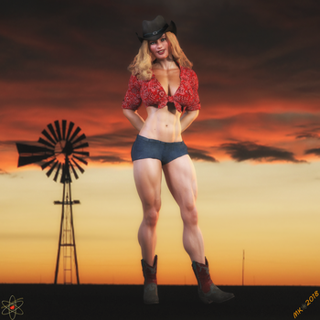 Oklahoma Sunset by Lady-Quantum