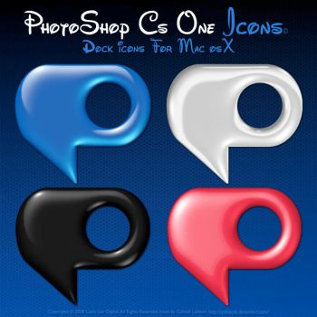 PS CS-ONE Icons by igabapple