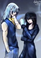 Nothing But Trouble (Riku and Xion) AU by Avidityy