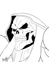 Lord Ainz Ooal Gown W.I.P by Savage-Mojo