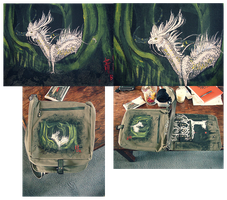 Messenger Bag 03 by Xainra