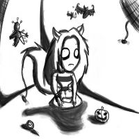 Me in Tim Burton style by BubonicDoctor