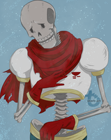 Undertale Papyrus - I Pity You, Lonely Human... by skerbb