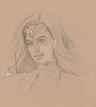 Wonder Woman by TheLoveSong