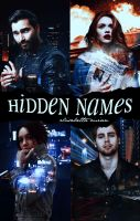 Hidden Names||Wattpad Cover|| by DaisyChan55