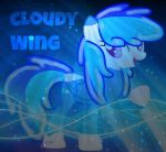 [AT] Cloudy Wing (W/Background|Effects) by CupcakePieMLPCUTE