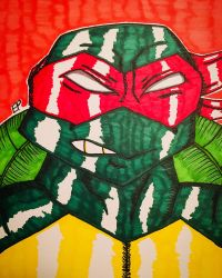 TMNT - Raphael  by GhostFreak-Artz