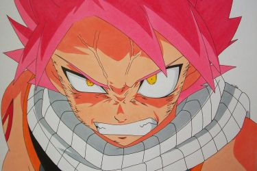 ''Now I'm Really Pissed Off!'' Natsu Dragneel by SakakiTheMastermind