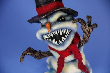 Evil Snowman - Available by AlwaysSuagarCoated