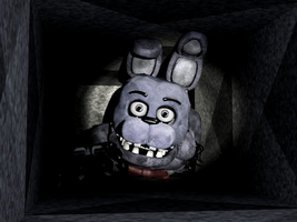 Bonnie 1.0 (in the Vent) by FreddyFredbear