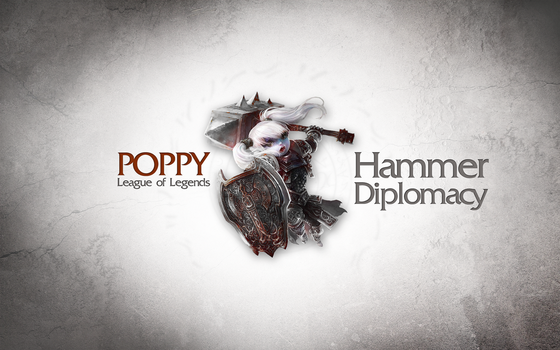 League of Legends Wallpaper - Poppy by deSess