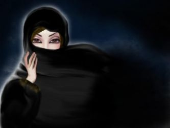 saudi woman by DesignerHanaa