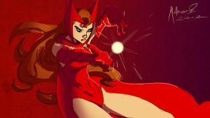 DSC-Scarlet Witch 2 by AdamMasterman