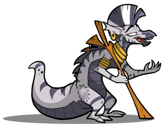Zecora - Dragonification [colored] by secoh2000