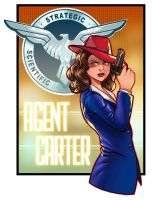 Agent Carter Design Contest Entry by RichBernatovech