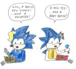 Sonic 25 Days of X-mas - Day 23 (Bernadete/Jules) by dth1971
