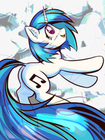 VinylScratch by mirroredsea