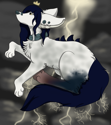 Storm Filled Mind by kryticalcanine