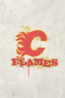 Iphone NHL - Calgary Flames by obsilion