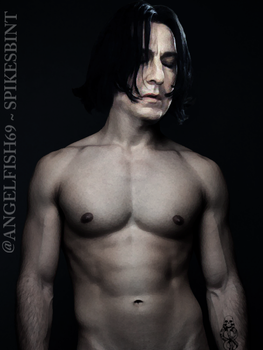 Severus Snape uncloaked by spikesbint