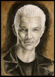 William ''Spike'' the Bloody -pencil- by Haddrian