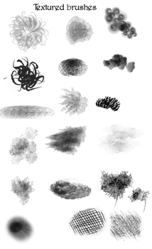 Textured Custom Brushes by Amelius