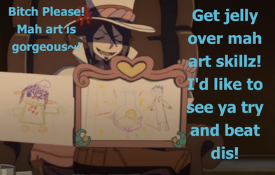 Mephisto has art skillz~! by NiniIs1