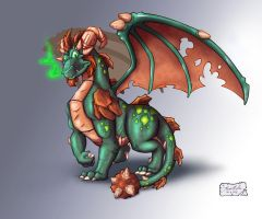 TLoS DragonGuardian Terrador by That-Spyro-Guy