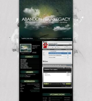 Myspace: Abandon Your Legacy by stuckwithpins