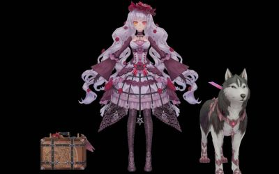 MMD Pandora Fantasy Frontier  by Horiew