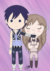 Request: Chrom and Sumia chibis by Cherry-the-ninja