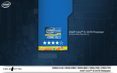 Intel Core i5 3470 Wallpaper 01 by 18cjoj